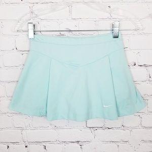 Nike|Light Blue Mini Skirt with Shorts